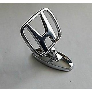 Car Auto Hood Bonnet Ornament Chrome Emblem for Honda