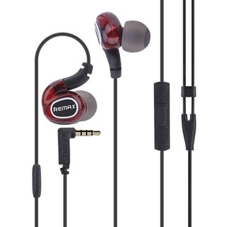 RAKSHA BANDHAN GIFTS!SALE DAY!DEAL!REMAX Wired Stereo Earphones with Multifunctional ButtonsEZ222-RED