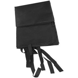 Futaba Portable Waterproof Pet Car Seat Cover - Black - Medium