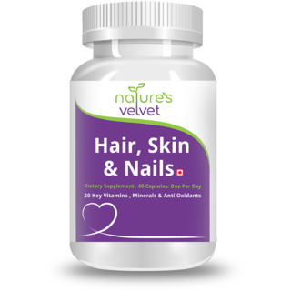 Natures Velvet Lifecare Hair, Skin And Nails, 60 Capsul