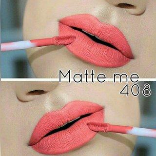 Incolorr Matte Me Liquid Lipstick-418. Free 1 Incolorr Lip Pencil