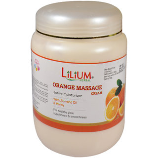 Lilium Herbal Orange Massage Cream 900g