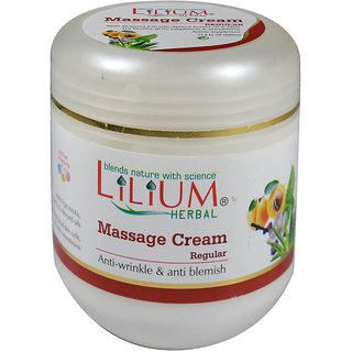 Lilium Herbal Regular Massage Cream 500ml