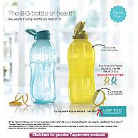 tupperware water bottle  ( 2 ltr. )