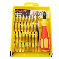 JACKLY 32 Pieces Magnetic Screw Driver Tool Kit JK 6032
