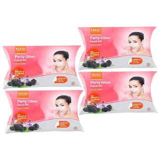 SPECIAL COMBO OF PARTY GLOW FACIAL KIT (pack of 4)