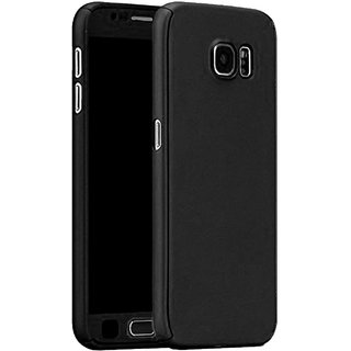 TBZ 360 Degree Protection Front & Back Case Cover Cover for Samsung Galaxy J7 Max  -Black