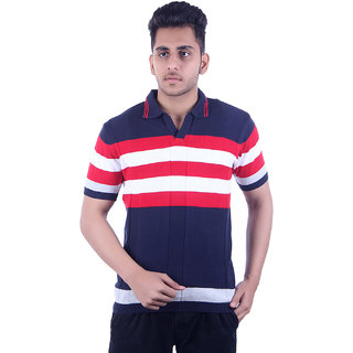 Ogarti Men's Navy Polo Collar T-shirt