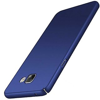 TBZ Protection Hard Back Case Cover for Samsung Galaxy J7 Max  -Blue
