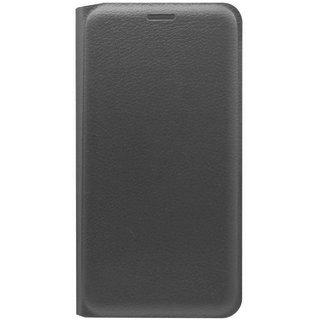 TBZ PU Leather Flip Cover Case for LeEco Le 2 -Black