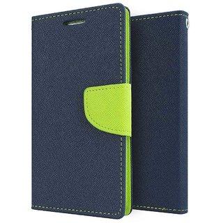 TBZ Diary Flip Cover Case for Oppo F1s -Blue-Green