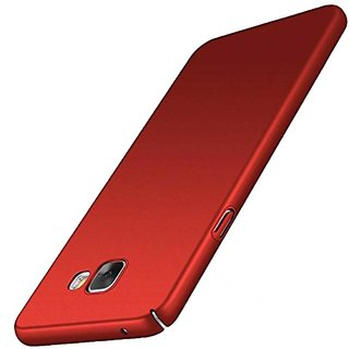 TBZ Protection Hard Back Case Cover for Samsung Galaxy J7 Max  -Red