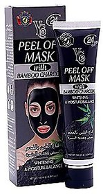 YC PEEL OFF MASK WITH BAMBOO CHARCOAL.