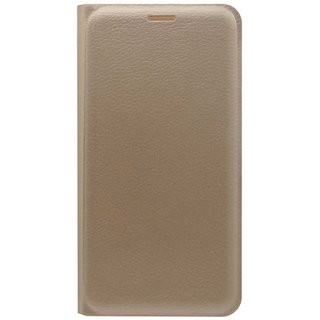 TBZ PU Flip Cover Case for Motorola Moto G5 Plus -Golden