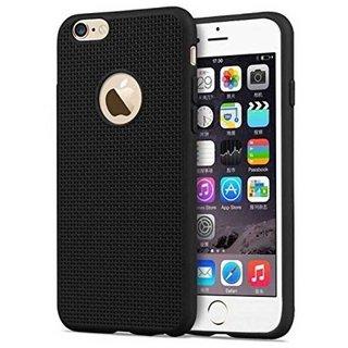 TBZ Rubberised Black Net Back Cover Case for Motorola Moto G5 Plus