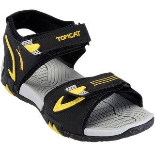 Tomcat Men's Yellow & Black Velcro Floaters