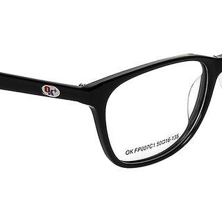 bab75dea132 Buy Opticalskart Okfp007c1 Black Wayfarer Eyeglasses Online - Get 67 ...
