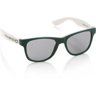eabc253e7e Buy Fastrack Pc002bk9 Green Wayfarer Sunglasses Online   ₹795 from ...
