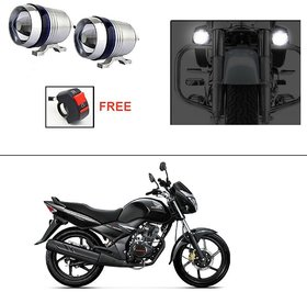AutoStark U3 LED Motorycle Fog Light Bike Projector Auxillary Spot Beam Light (1 Pc) For Honda Unicorn