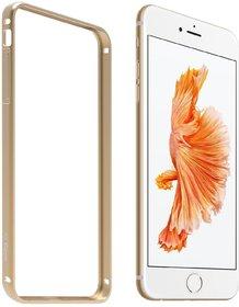 AirCase Premium Ultra-Thin Aluminium Metal Guard Bumper Case Cover for iPhone 6 (GOLD)