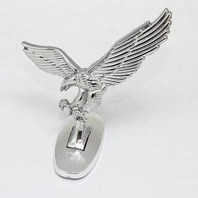 Universal Car Hood Bonnet Eagle Chrome Emblem
