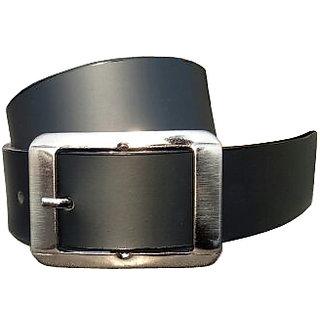 RoxelCraft Men's Black  Belt (Synthetic leather/Rexine)