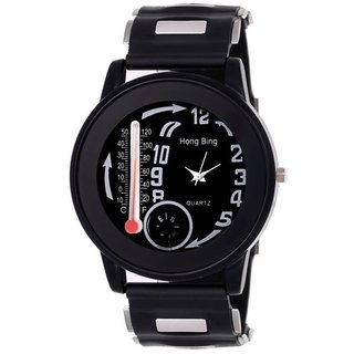 Temperature Thermometer With Compass Hong Bing  Analog Watch For Men,Boys