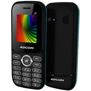 Adcom J2 (1.8 Inch Display, 1500 mAh Battery, FM Radio, Made in India)
