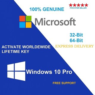 Buy Microsoft Windows 10 Pro/Professional 32/64 Bit ...