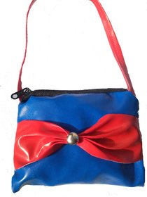 Blue And Red Mini Handbag For Kids