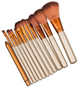 IMPORTED MAKEUP BRUSH (SET OF 12)