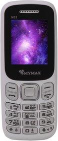 Mymax M32 (Dual Sim, 1.8 Inch Display, Wireless FM, 1000 Mah Battery)