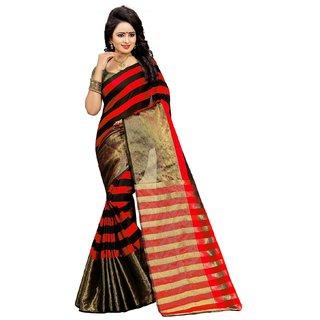 GANGA SHREE self design multicolor art silk saree, new sarees for art silk in 2018