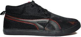 BlueFox Feiry Black And Red Sneakers Sneakers Black Cas