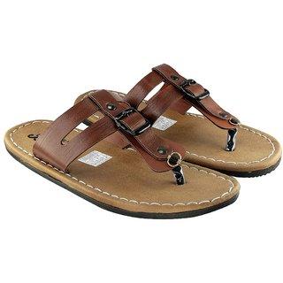 e7f344ecc Buy Blinder Men s Tan Trendy Flip-Flop Slippers Online - Get 32% Off