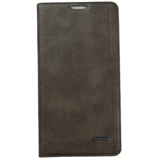 RICH BOSS LEATHER FOLIO FLIP FLAP COVER FOR SAMSUNG GALAXY E5 E-5 E 5 E500F  Samsung Galaxy E5 Duos (E5 2015 model )