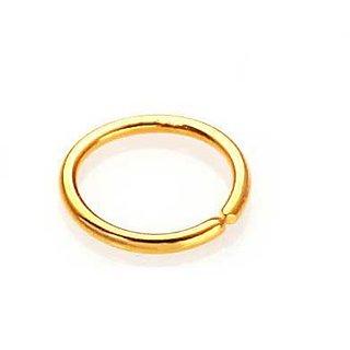 Buy Vinayak Sober Smart Gold Nose Ring Online 1325 From Shopclues