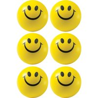 Smiley Stress Balls SET OF 6