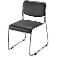 Nilkamal Contract Soft Pvc Chair Black