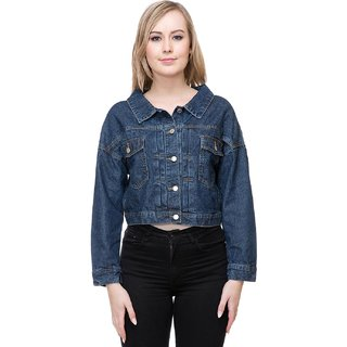 b852f1d91d8b27 Buy Kotty Blue Women s Denim Jackets Online - Get 75% Off