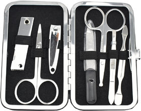 GlamGals Manicure Kit In Leatherette Case 7 PC