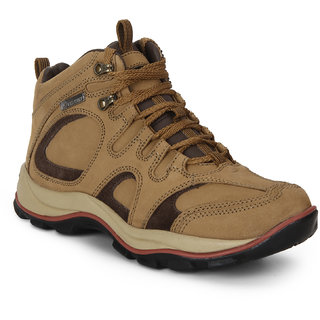 Red Chief Rust Men High Ankle Outdoor Casual Leather Shoe (RC2032 022)