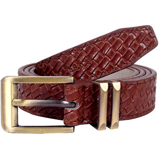 Lino Perros Brown Womens Belt