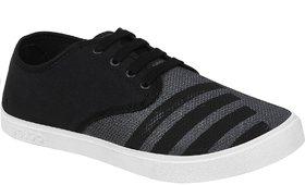 Birde Black-725 Sneakers For Men  (Black)