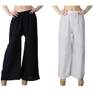 Causal Summer Palazzo pant (Pack of two) for ladies,girls