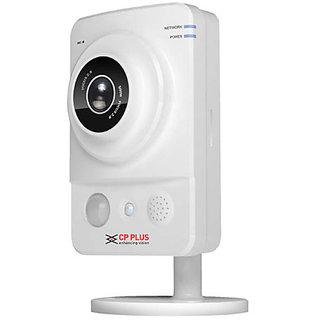 CP Plus HD 1.3MP P2P Cube IP CCTV Camera with Memory Card Slot Recording CP-UNC-C13L1-VMW
