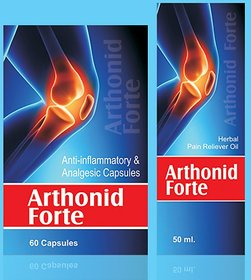 Pack Of Arthonid Forte Capsule And Oil