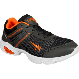 Bersache Men/Boys Black Sports Running Shoes