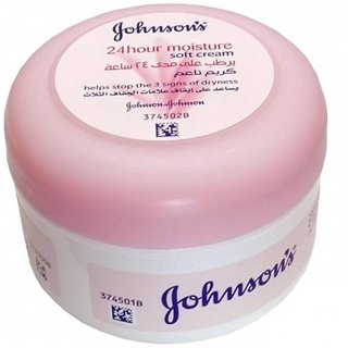 Johnsons 24 H Moisture Soft Baby Cream, 200 ml