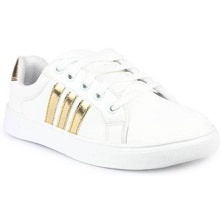 04e7cee9933a Buy Earton Women White Sneaker Shoes Online   ₹498 from ShopClues